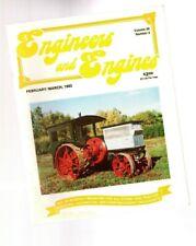 "Old Steam/Gas ENGINE magazine: IHC TITAN,NYC ""Mike"",Calliope Steam Piano,Corliss"