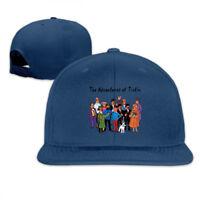 Tintin Characters Adjustable Cap Snapback Baseball Hat