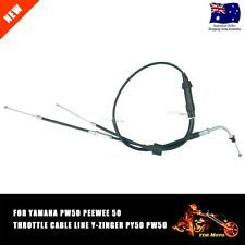 Motorcycle Parts Yamaha Kits Bike PW50 Throttle Cable Assembly 1981-09 Ebike