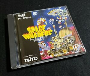 [ PCE ] SPACE INVADERS - Arcade Action Shooter - PC Engine Turbografx JAPAN Hu