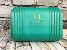 Sassaby Covergirl Caboodle Style Makeup Case Green - Secret Compartment! 90's