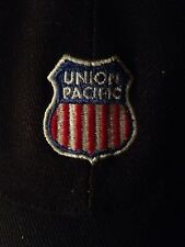 Union Pacific Railroad Steamliner Baseball Cap Hat Navy Blue Adjust All Cotton