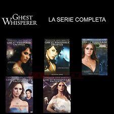 GHOST WHISPERER - STAGIONI DA 1 A 5(STAGIONE FINALE)-29DVD-COFANETTI SINGOLI,ITA