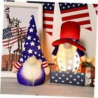 American Patriotic Gnome Lights, USA Independence Day Uncle Sam Red & Blue