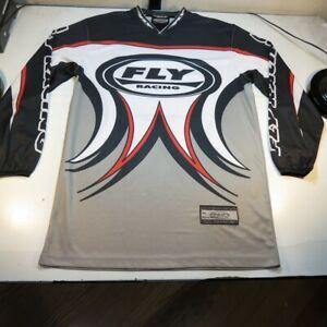 FLY MX MOTOCROSS DIRT BIKE MOTORCYCLE OFF ROAD RACING JERSEY Sz Mens M