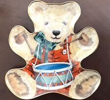 "Franklin Mint Heirloom Recommendation""Little Drummer Bear' Porcelain Plate"