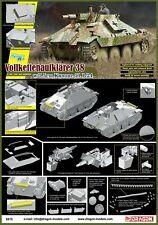 Dragon 1/35 German VollkettenaufklÌÎ_rer 38 w 7.5cm Kanone L/24 6815