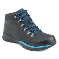 New Mens Croft & Barrow Thorpe Grey Suede Utility Ankle Boots Retail $85