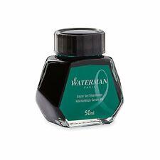 Waterman Fountain Pen Ink Harmonious Green 50ml Bottle