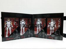 "Star Wars Black Series 6"" STORMTROOPER CLONE TROOPER 4 PACK Amazon Exclusive"