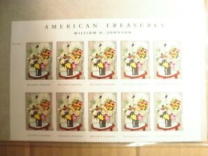 WILLIAM H. JOHNSON AMERICAN TREASURES STAMP -- USA #4653 FOREVER 2012 MNH