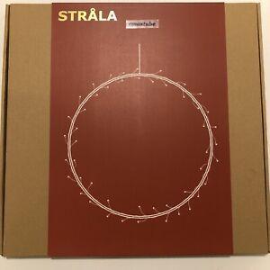 IKEA Strala ringförmig 45 cm Hängeleuchte Fensterleuchte 104.403.86 NEU OVP