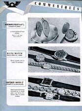 1943 Swiss Watch Fair Jaeger-LeCoultre Omega Louis Brandt Rolex Patek Philippe
