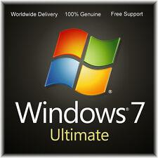 Windows 7 Ultimate 32/64 Bit la activación del producto chatarra de clave de licencia PC