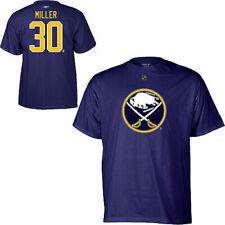 NHL T-Shirt Buffalo Sabres Ryan Miller 30 Eishockey Player Name Number