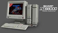 Sharp X68000 Raspberry pi SD card Plug & Play, Emulator, Frontent + Games!