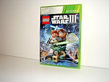 Xbox 360 Lego Star Wars 3 The Clone Wars *** Brand New ***