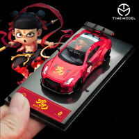 TM TIME MODEL 1:64 Scale Nissan GTR Nezha Diecast Model Car New In Box