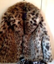Amazing Faux Fur Jacket Coat -HSN SOLD OUT $298-Curations!