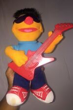 Playskool Sesame Street Hasbro Strummin Ernie Plush Stuffed Animal Sings & Plays