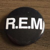 REM Band 25mm 1 Inch D Pin Button Badges 6x R.E.M