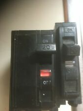 Electrical Circuit Breakers (2) Square D Qo 20 amp