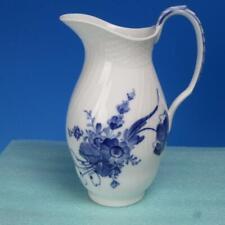 Royal Copenhagen Denmark China - Blue Flowers - 7½ inch Pitcher - 1609