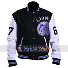 Eddie Murphy Beverly Hill Cop Letterman Detroit Lions Jacket - Free Shipping