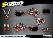 KTM SX Dekor Grafik Set 250 300 360 1993 1997 Motocross '93 -'97 SCRUB MX