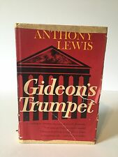 1964 Gideon's Trumpet By Anthony Lewis 1st Edition And Printing (G) HC/DJ