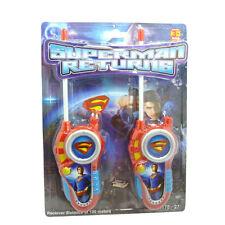 Walkie Talkies Para Niños El Hombre De Acero Superman Returns-Brand New Toys