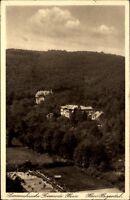 Gernrode Harz DDR Postkarte 1949 gelaufen Blick auf Haus Hagental Pensionat