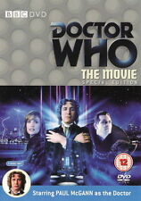Doctor Who - The Movie (2 Disc Special Edition) Original box & insert Dr Who
