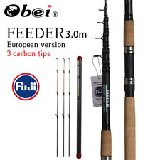 Obei Feeder Fishing Rod Telescopic Spinning Casting Travel Rod 3.0m Vara De Pesc