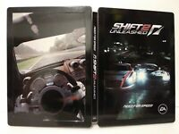 Need For Speed Shift 2 Unleash Steelbook - G1 - Sans jeu - Très bon état