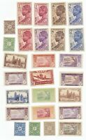 Ivory Coast Stamp Collection 26 used stamps lot 1 as pictured