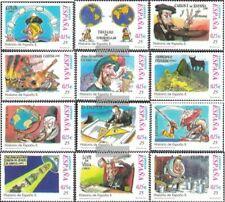 Spanien 3656-3667 (kompl.Ausg.) postfrisch 2001 Die Geschichte Spaniens