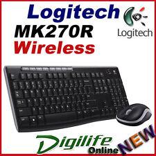 Logitech MK270R Wireless Combo Desktop Keyboard & Mouse 2.4Ghz MK270