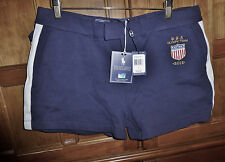 NwT $125 RALPH LAUREN Official Olimpic Team USA 2012 Navy Blue SHORTS Sz L