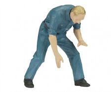 Schuco Pit Crew Mechanic - 1/18 Scale Die-cast Figurine