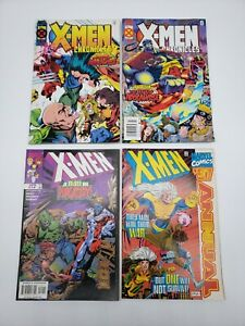 Lot of 8 X-Men Marvel Comics - Chronicles, Revolution, Alpha Flight, Classic