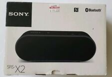 Sony SRS-X2 Black Ultra Portable Bluetooth Wireless NFC Universal Speaker