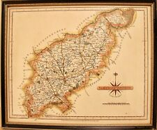 Vintage Reproduction County Map of Northamptonshire First Published by J. Cary