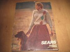 Vintage Sears 1988 Fall & Winter Catalog
