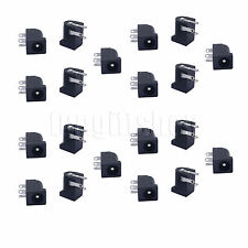 20pcs 5.5x2.1mm DC Power Supply PCB Mount Female Jack Socket Connector 3 pin