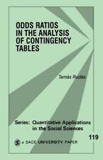 Odds Ratios in the Analysis of Contingency Tables (Quantitative Applic-ExLibrary