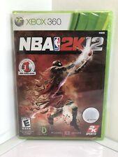 NBA 2K12 Microsoft Xbox 360 Brand New SEALED