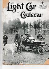 Light Car & Cyclecar Magazine. 23/11/1914. VERY RARE ISSUE. PDF on USB.