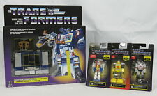 Lot 4 Transformers G1 Exclusive Soundwave Reissue Megatron Starscream Figures