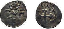 1580-1630 Savoy(Italy) Silver Quarto di Soldo Charles Emmanuel  Cross #3